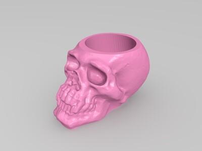 颅骨电池茶光-3d打印模型