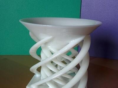 螺旋烛台-3d打印模型