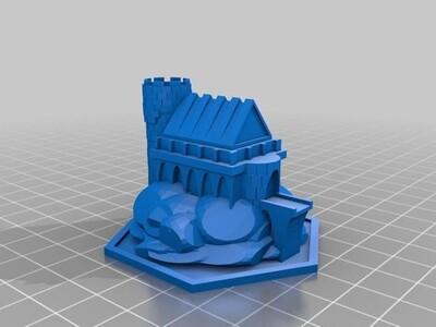 魔法屋-3d打印模型
