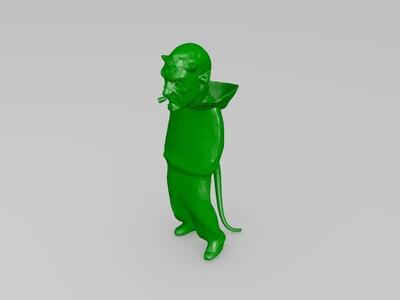 魔鬼模型-3d打印模型