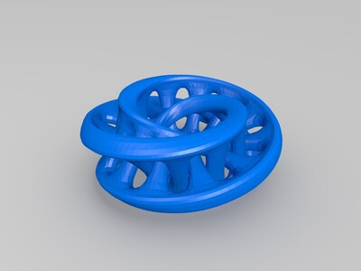 三维莫比斯-3d打印模型