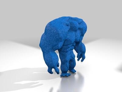 不知名生物-3d打印模型