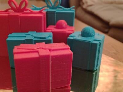 圣诞礼物-3d打印模型