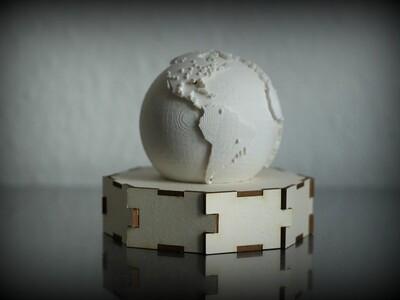 推特向地球-3d打印模型