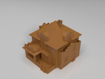 小别墅-3d打印模型