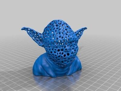 尤达-献给斯图亚特·弗里伯恩-3d打印模型