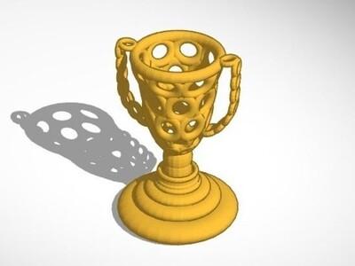 圆环的奖杯-3d打印模型