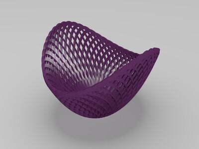 水果篮子-3d打印模型