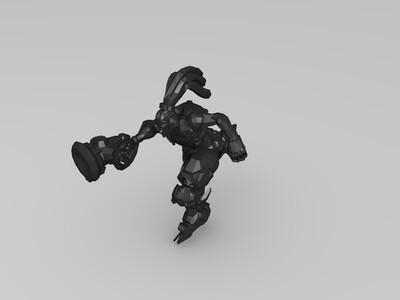 守望先锋 卢西奥 青蛙等各种造型-3d打印模型