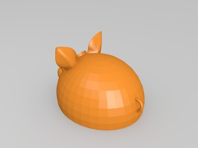 小猪挂饰-3d打印模型