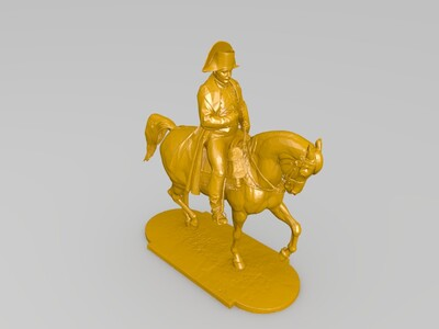 拿破仑-3d打印模型