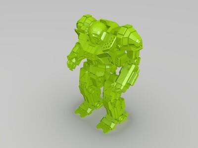 战场之王-3d打印模型