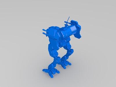 战车-3d打印模型