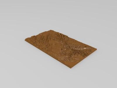 英雄联盟感光图片-3d打印模型