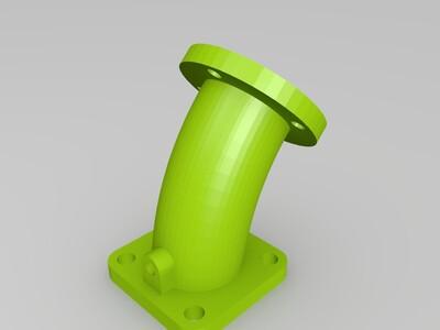 管弯头-3d打印模型