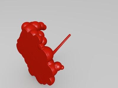 章鱼摆件-3d打印模型