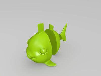 热带鱼-3d打印模型