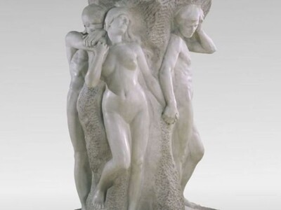古罗马雕像笔筒花瓶-3d打印模型