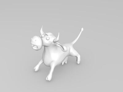 奶牛-3d打印模型