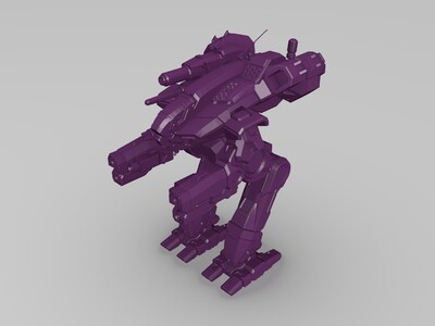掠夺者mk-3d打印模型