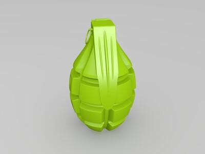 手雷-3d打印模型