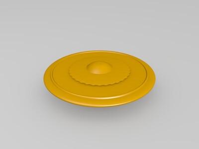 飞碟-3d打印模型
