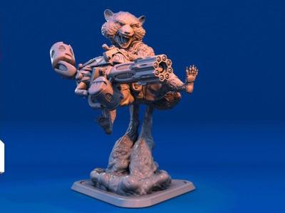 斗战胜佛-3d打印模型
