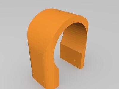 山地车手机架-3d打印模型