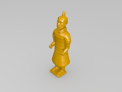 兵馬俑-3d打印模型