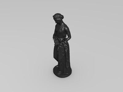 潘多拉雕塑-3d打印模型