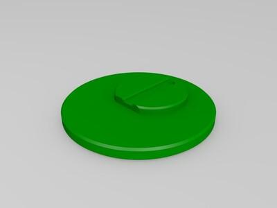 胖小黄人小台灯-3d打印模型
