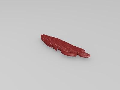 金龙鱼-3d打印模型