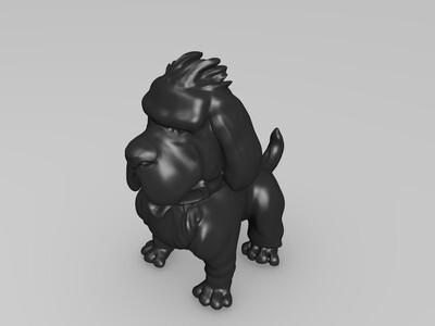 大耳朵狗狗-3d打印模型
