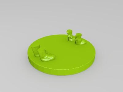 蝎狮-3d打印模型