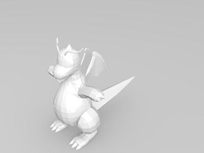 Pokemon Dragonite-3d打印模型