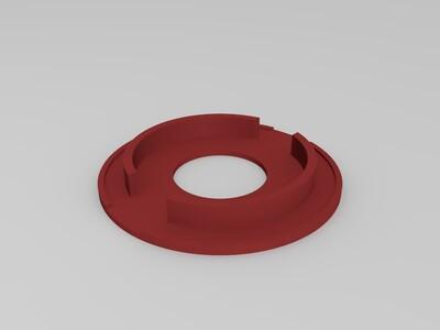 防毒面具(加灯)-3d打印模型