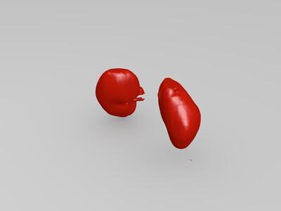 肾脏ct扫描-3d打印模型