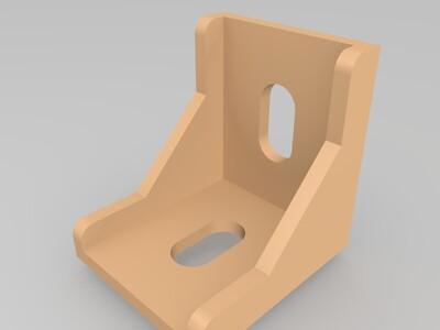 4040型材角件-3d打印模型