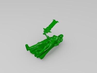 热血传奇-3d打印模型