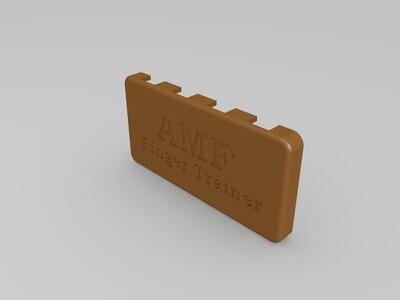 AMF手指训练器-3d打印模型
