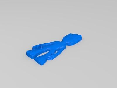 格鲁特-3d打印模型