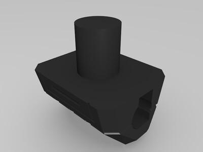 战神金刚 机甲舰队 双手-3d打印模型