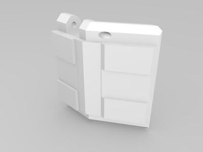 战神金刚 机甲舰队 腰部-3d打印模型