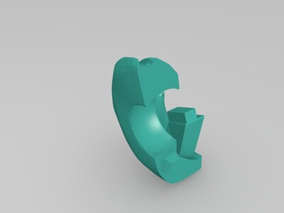 弗兰-3d打印模型