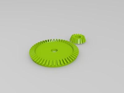 斜齿轮-3d打印模型