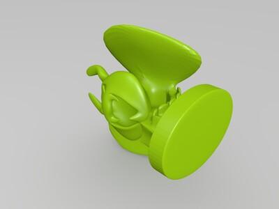 吸血虫摆件灯-3d打印模型