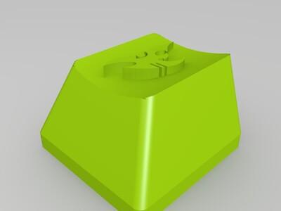 机械键盘帽 键帽-3d打印模型