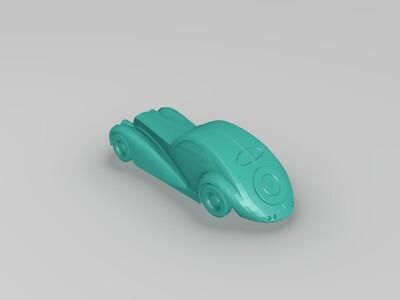 GTA V Z型老爷车-3d打印模型