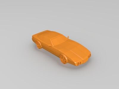 GTA VC1984跑车-3d打印模型