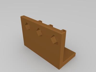 书架、笔筒-3d打印模型